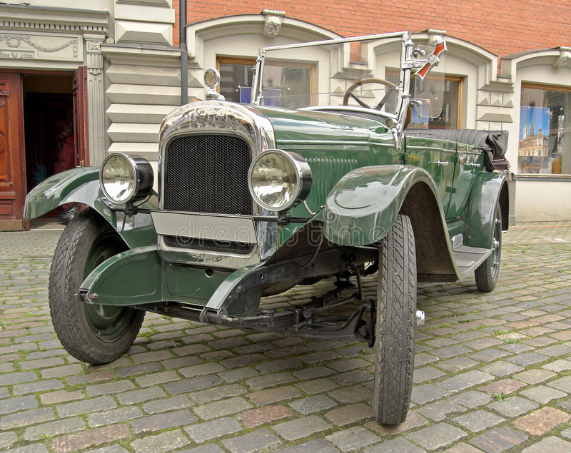 Download Retrocar. stock image. Image of automobile, antiquarian - 7532253