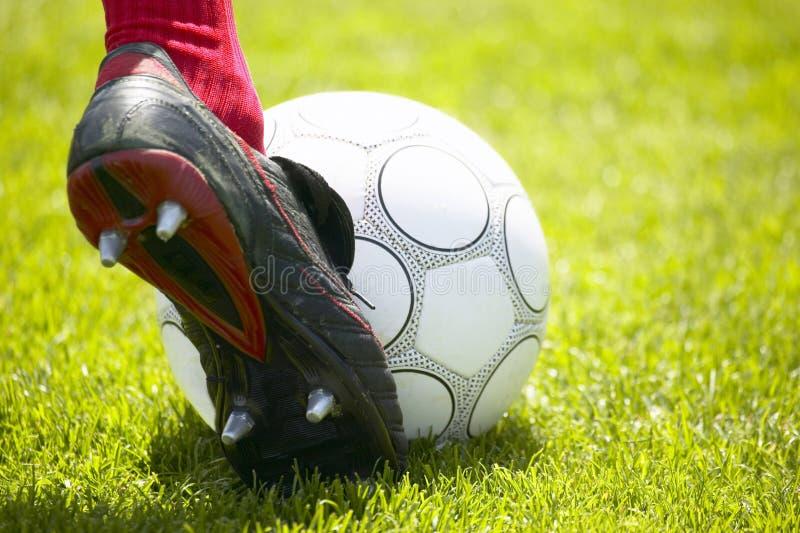 Retroceso de Fußball fotografía de archivo