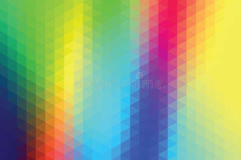 Rettangoli blu 2 illustrazione di stock