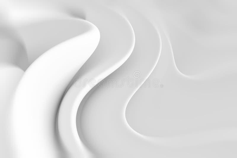Rettangoli blu 2 Progettazione minima di Wave illustrazione vettoriale