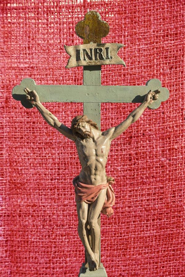 Retter Jesus Christs INRI von Christen stock abbildung