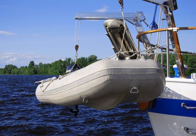 Rettung auf dem Wasser lizenzfreies stockfoto
