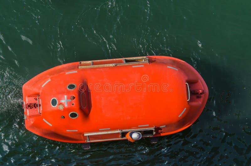 Rettungsboot stockbild