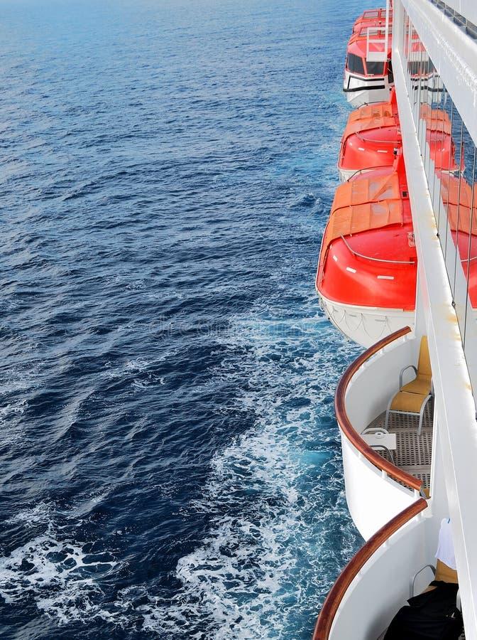 rettungsboote lizenzfreies stockbild