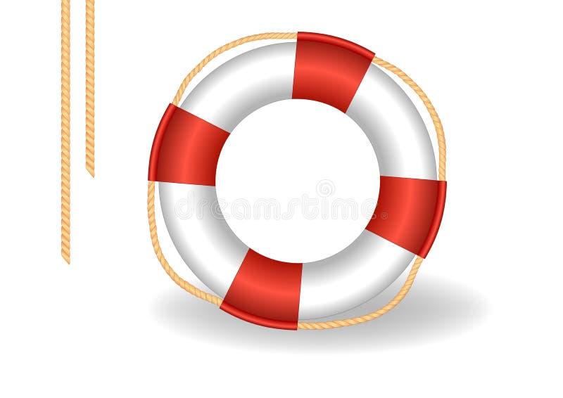 Rettungsgürtel stock abbildung