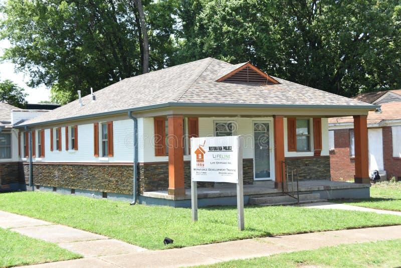 Rettungsleinen-Gefängnis, zum des Gebäudes, Memphis, TN zu versprechen stockfotografie