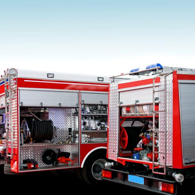 Rettungsmotoren stockfotografie