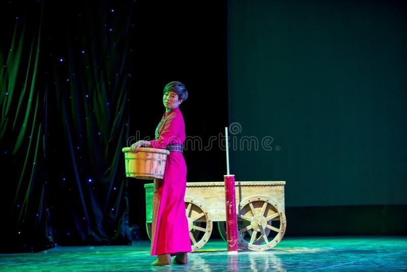 Returen av att mjölka - den nationella folkdansen fotografering för bildbyråer