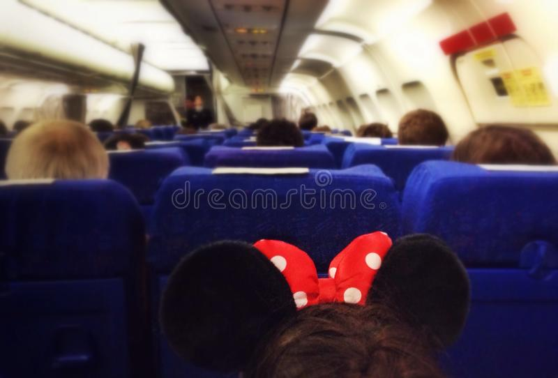 Return from Disneyland royalty free stock images