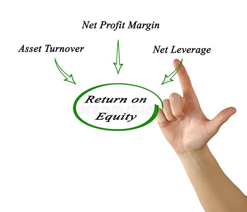 Return on Equity royalty free illustration