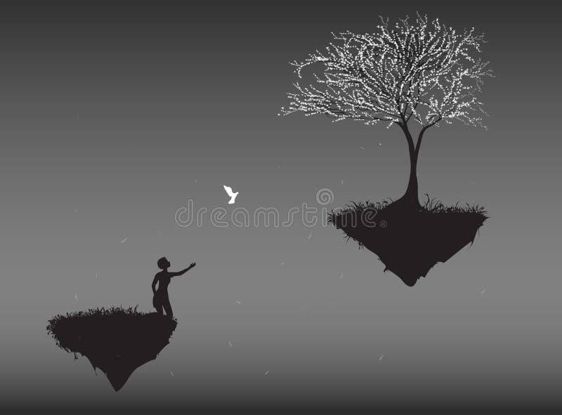 Return home vector illustration