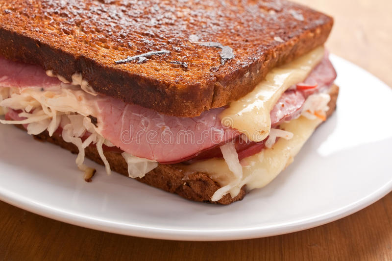 Reuben Sandwich photographie stock