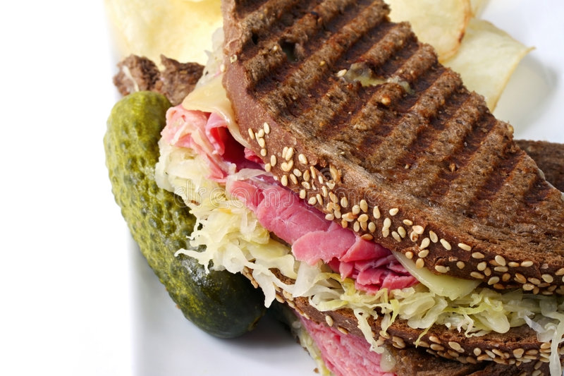 Download Reuben Sandwich Stock Photography - Image: 5762572