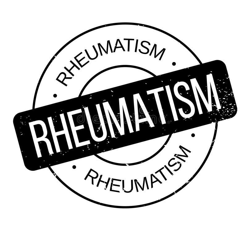 Reumatiek rubberzegel royalty-vrije illustratie