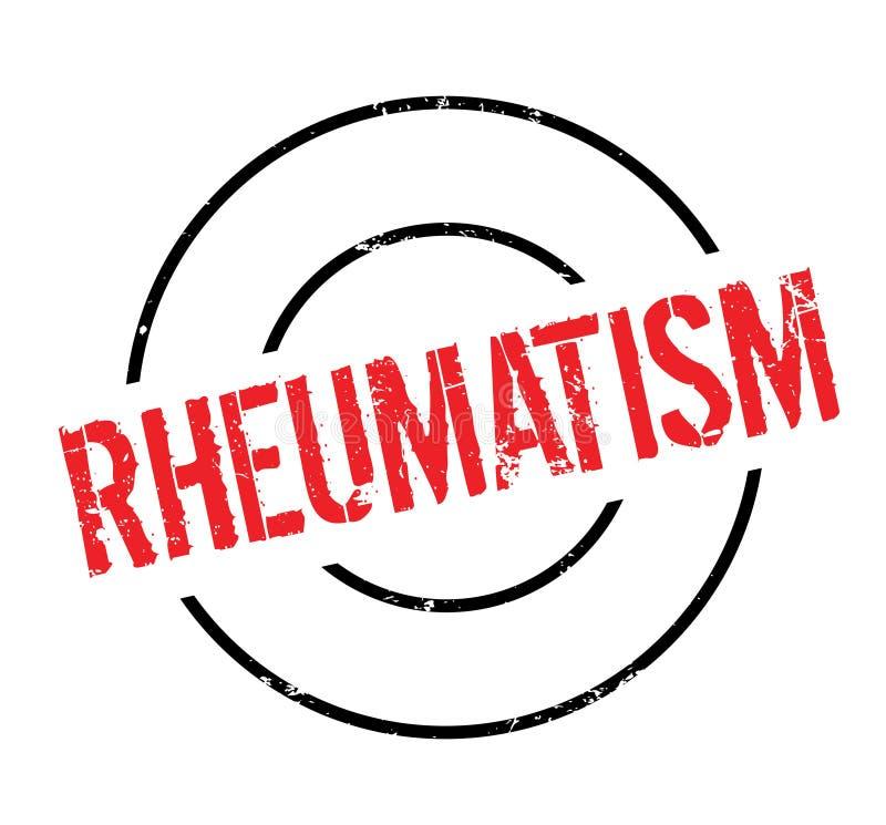 Reumatiek rubberzegel vector illustratie