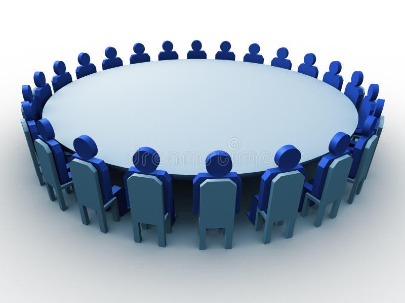 Reunião ilustração do vetor