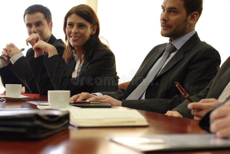 Reunião congressional da equipe de funcionários imagens de stock royalty free