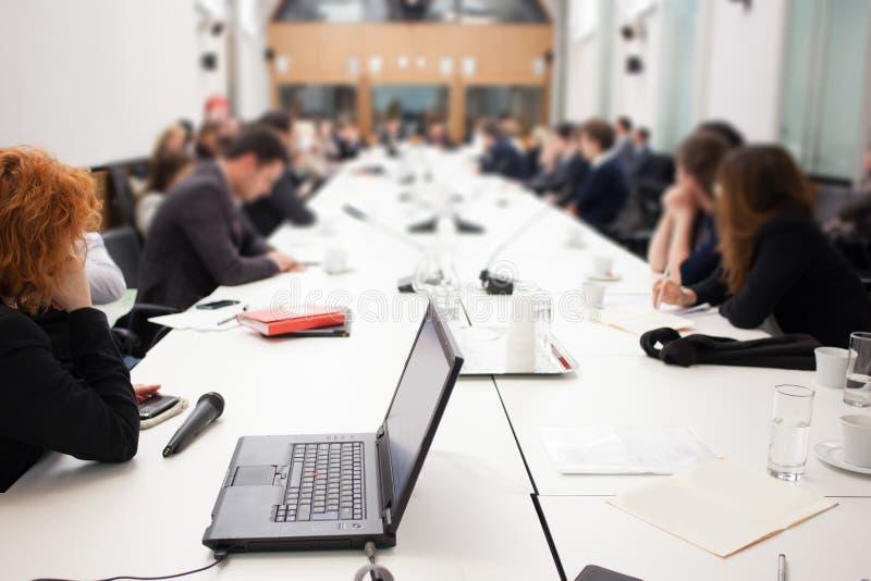Reunião da conferência imagens de stock