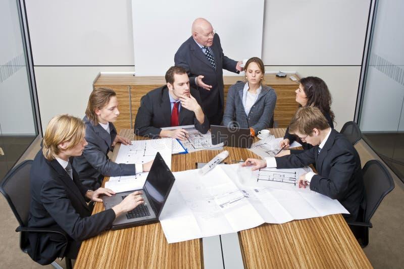 Reunião da equipe do negócio imagens de stock