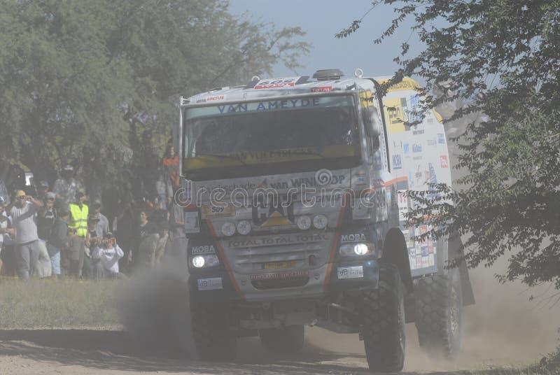 Reunião Dacar Argentina o Chile 2009 imagem de stock