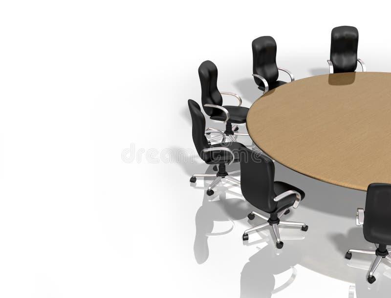 Reunião de grupo ilustração stock