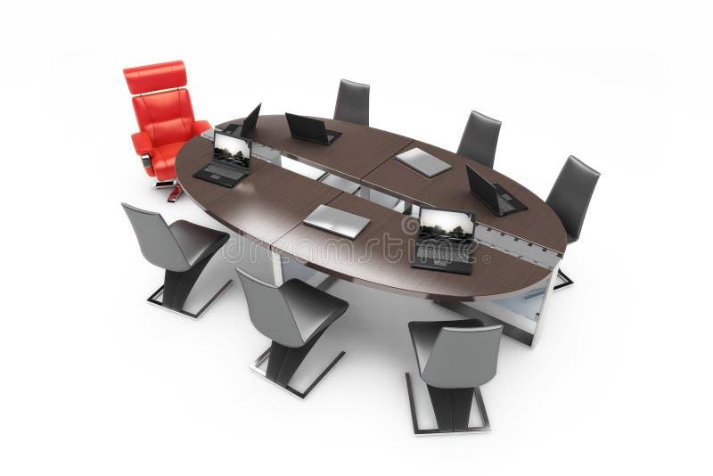 Reunião de negócio fotografia de stock