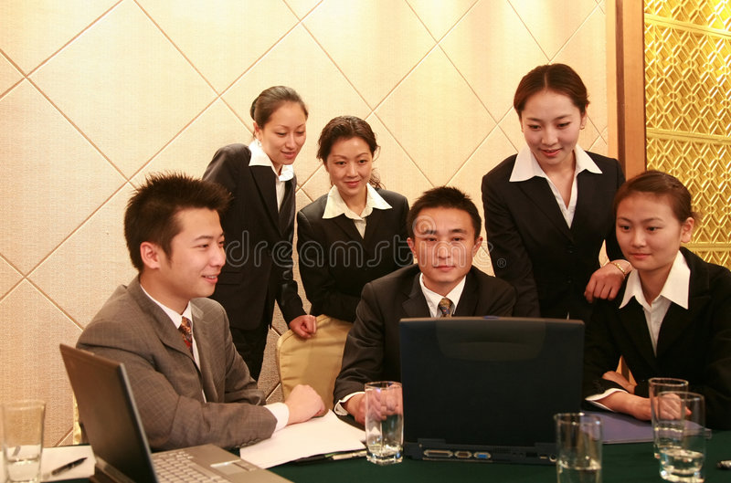 Reunião de negócio fotos de stock royalty free