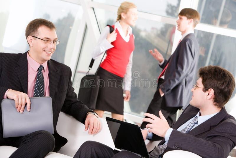 Reunião de negócio foto de stock royalty free