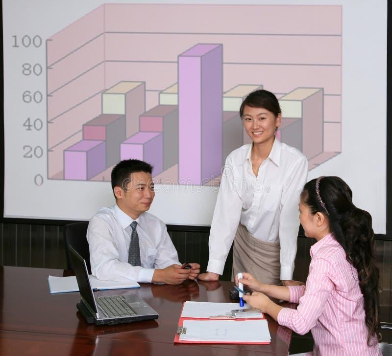 Reunião de negócio imagens de stock royalty free