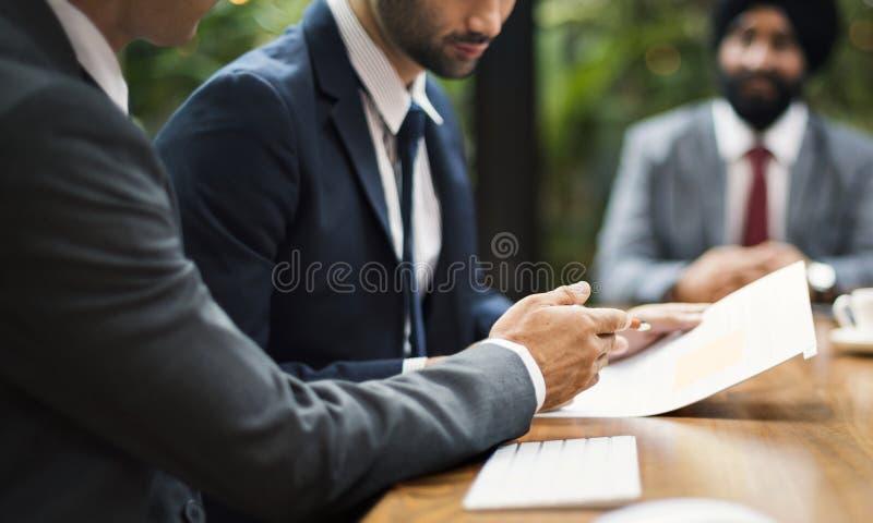 Reunião de negócios em Ásia imagens de stock royalty free