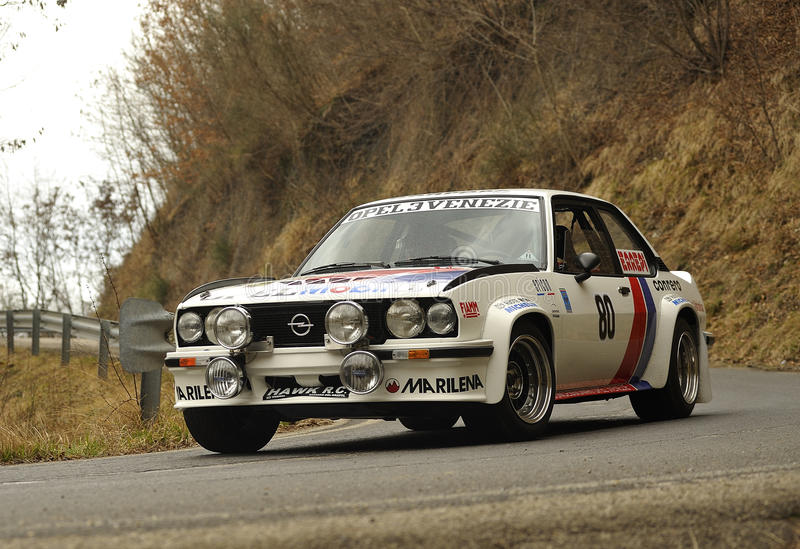 Reunião de Opel Ascona 400 foto de stock royalty free