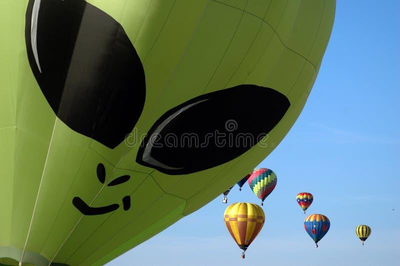Reunião do balão fotografia de stock