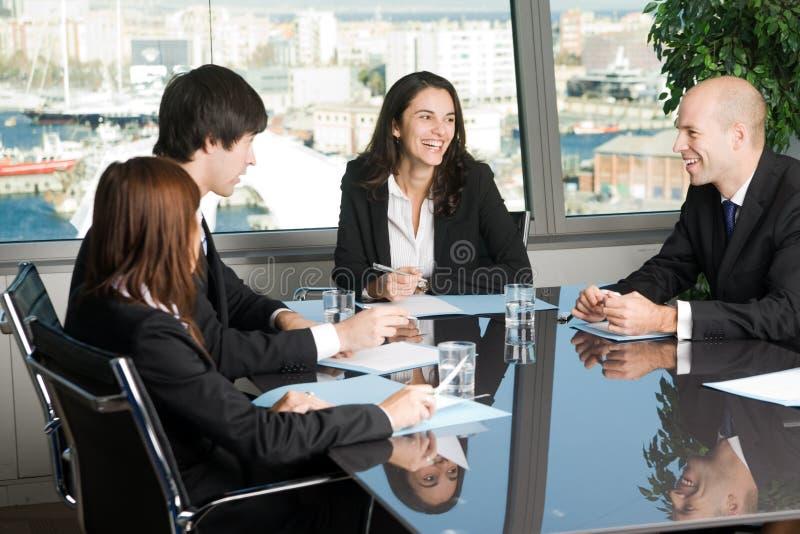 Reunião do pessoal imagem de stock