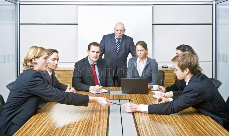 Reunião do quadro imagens de stock