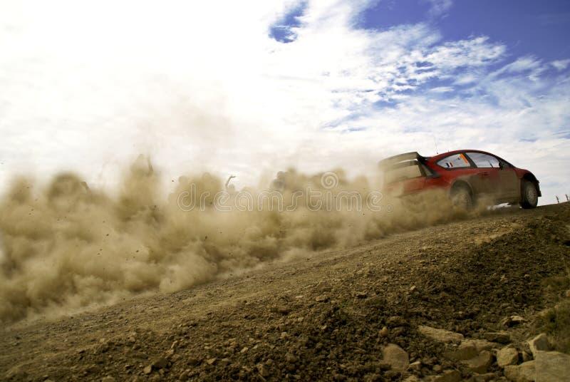 Reunião México da corona de WRC imagem de stock
