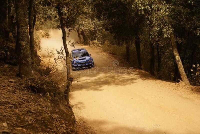 Reunião México da corona de WRC Toshi 2010 ARAI foto de stock