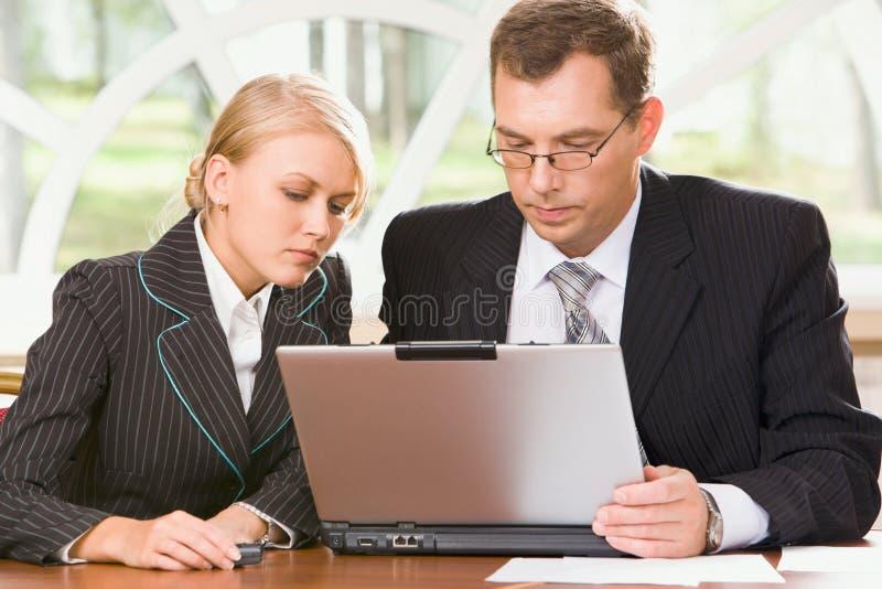 Reunião necessária fotos de stock