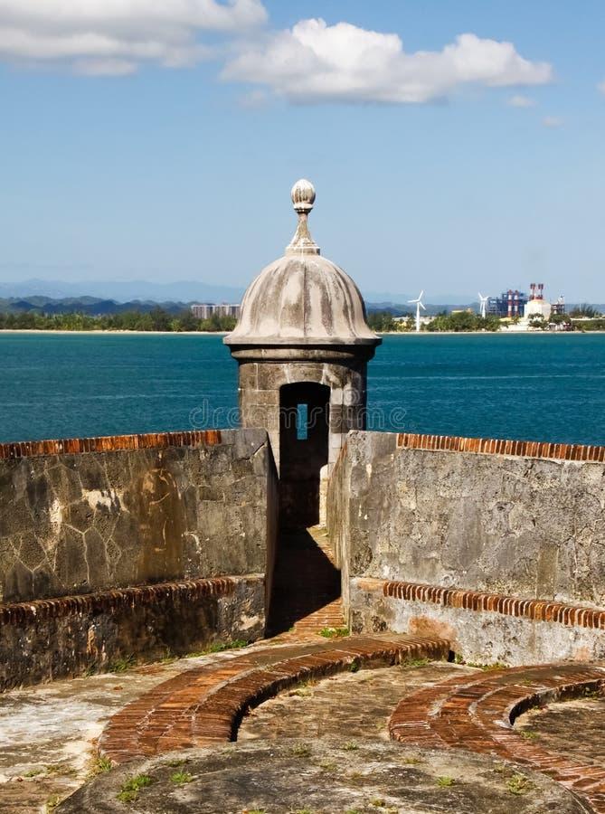 Reunião velha e nova de San Juan - fotografia de stock royalty free