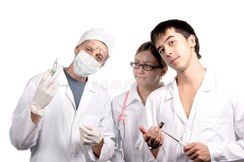 Reunión de doctores imagen de archivo
