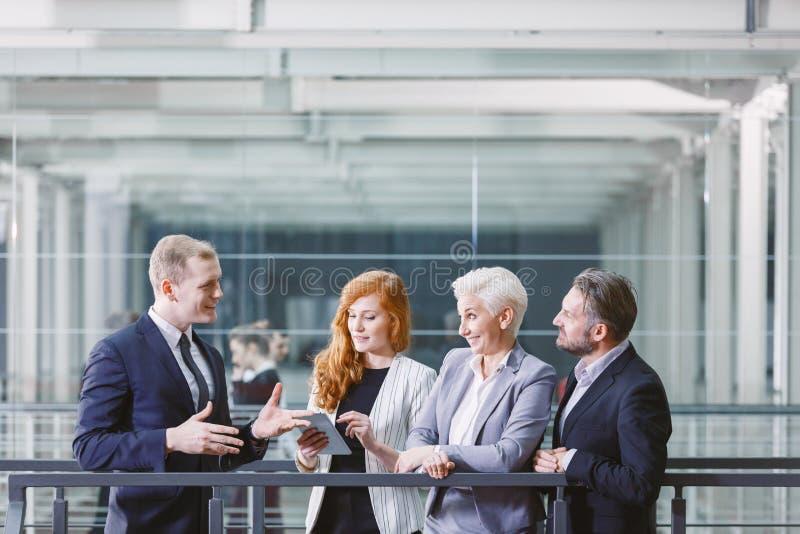 Reunión de la gestión de la compañía foto de archivo libre de regalías