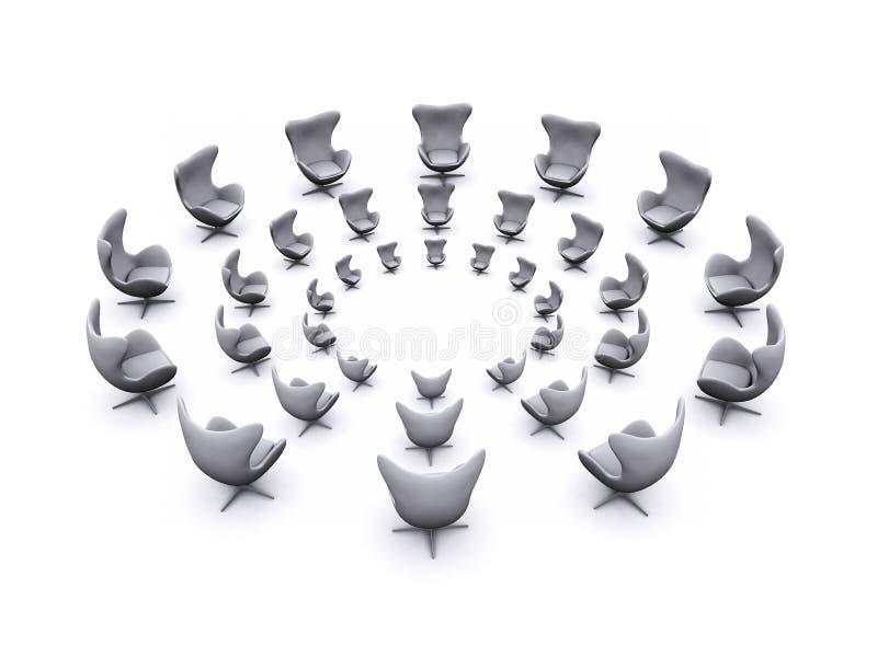Reunión de la oficina ilustración del vector