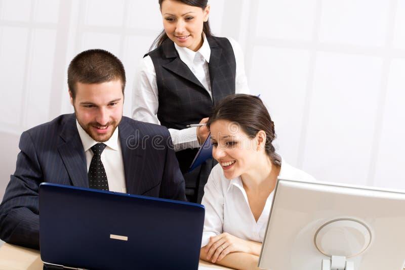 Reunión de negocios imagen de archivo