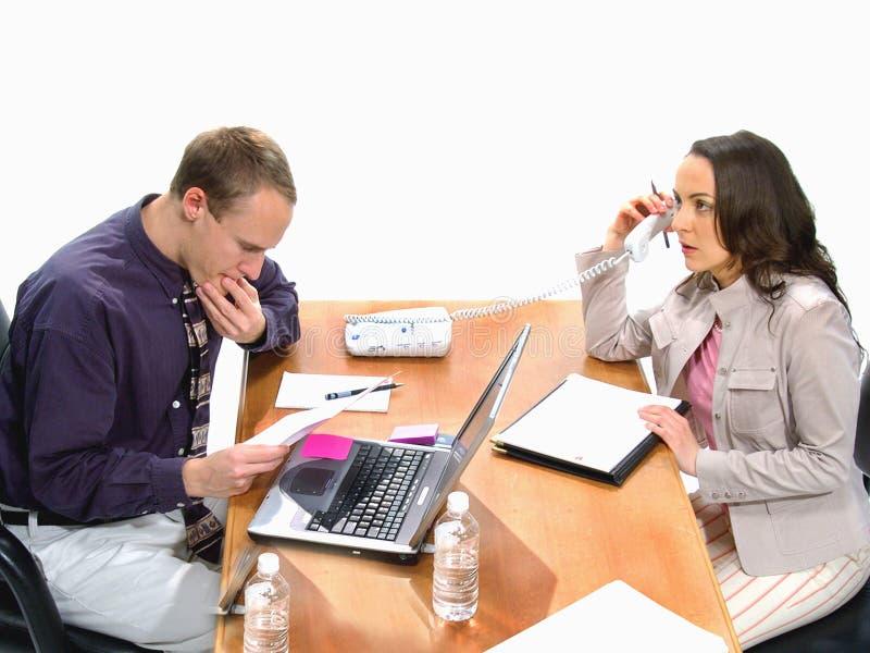 Download Reunión de negocios 2 foto de archivo. Imagen de teléfono - 75234