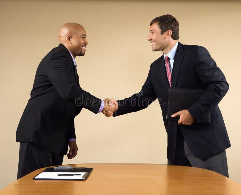 Reunión de negocios. imagen de archivo libre de regalías