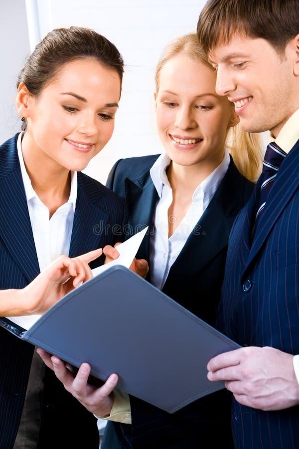 Reunión de negocios imagen de archivo libre de regalías