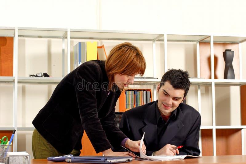 Reunión de negocios fotos de archivo
