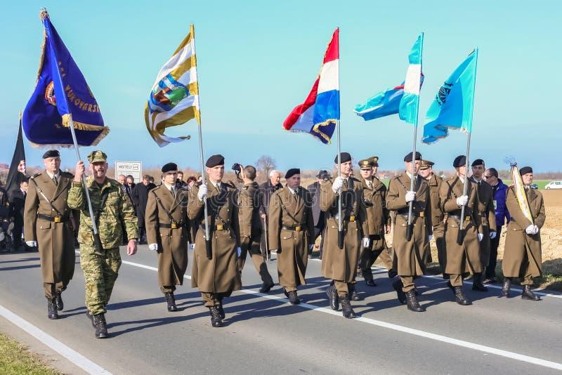 Reunión de Vukovar imágenes de archivo libres de regalías