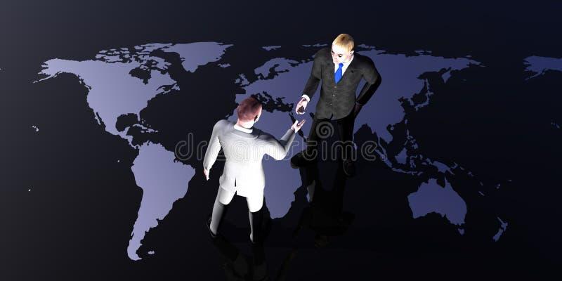 Reunión del mundo libre illustration