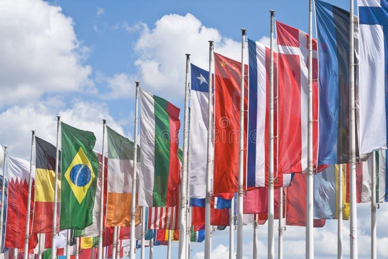Reunión internacional imagen de archivo libre de regalías