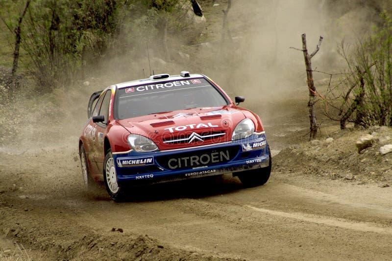 REUNIÓN MÉXICO 2005 DE LA CORONA DE WRC foto de archivo
